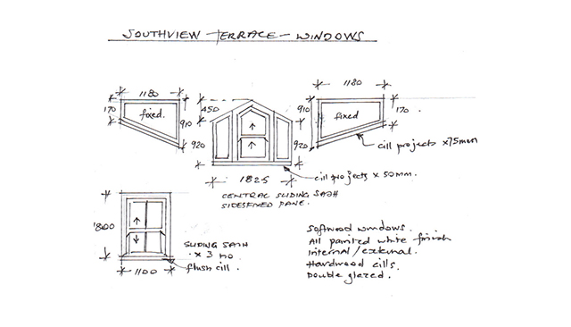 Architectural services cornwall official cove for Dormer window construction drawings